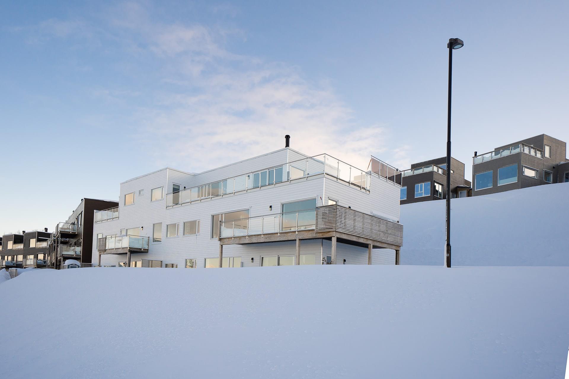 Hvite boliger i Tromsø